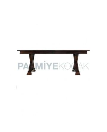 Cross-Legged Antique Classic Restaurant Table