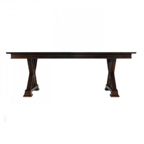 Cross-Legged Antique Classic Restaurant Table - kdm17