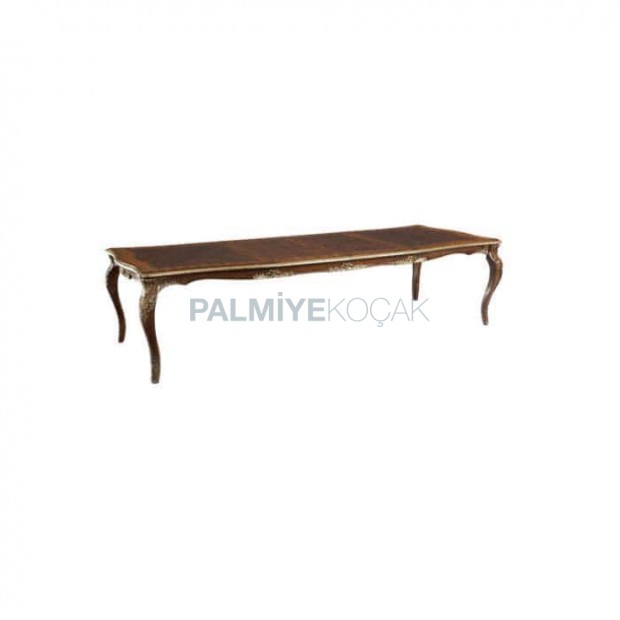 Rectangle Walnut Painted Classic Table