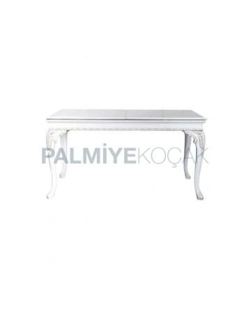 Lukens Carved Table