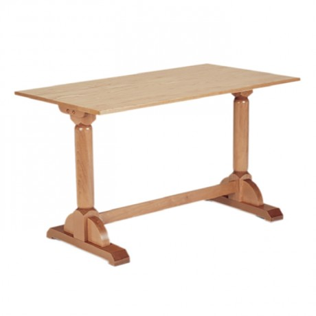 Natural Painted Classic Restaurant Table - kdm14