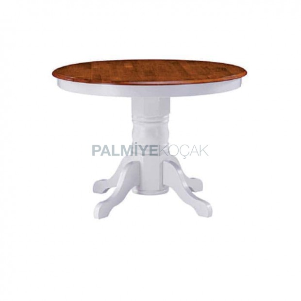 Turned Leg White Lake Painted Classic Lounge Table