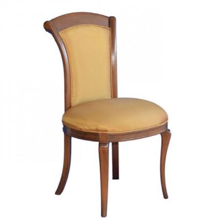 Açık Eskitme Tafta Kumaşlı Klasik Sandalye - ksa35