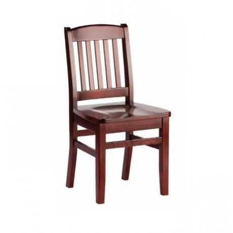 Wooden Restaurant Chair - ksa25