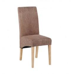 Beige Fabric Natural Leg Chair Dress Up