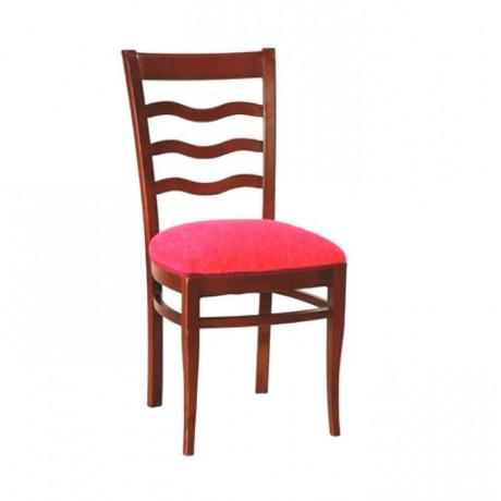 Cilalı Yemek Masası Klasik Ahşap Sandalye - ksa51