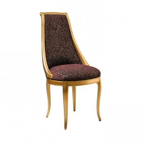 Gold Boyalı Lukens Ayaklı Klasik Sandalye - ksa130