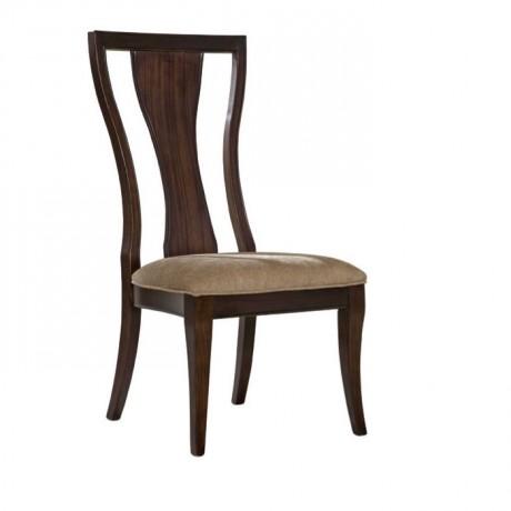 Dark Antique Wood Avangard Chair - ksa113