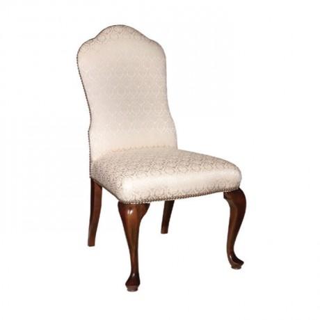 Lukens Leg Velvet Fabric Chair - ksa110