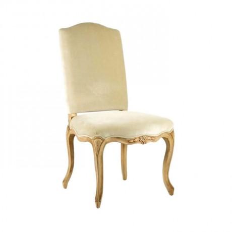 Lukens Ayaklı Oymalı Klasik Ahşap Sandalye - ksa73