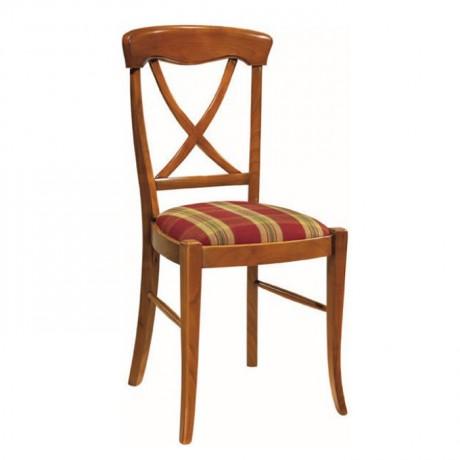 Natural Cilalı Klasik Ahşap Sandalyesi - ksa44