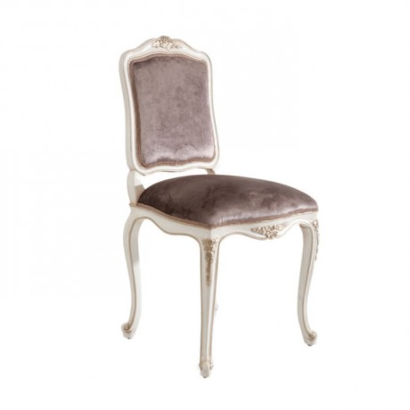 Oymalı Lukens Ayaklı Klasik Sandalye - ksa77