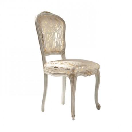 Patine Boyalı Klasik Lukens Sandalye - ksa76