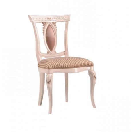 Sedef Boyalı Klasik Sandalye - ksa146