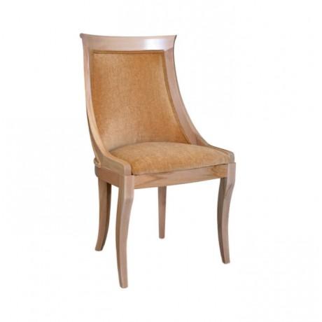 Silme Patine Boyalı Kadife Kumaşlı Klasik Sandalye - ksa92