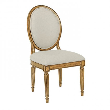 Classic Wooden Chair with Foil Painted Leg Painted - ksa108