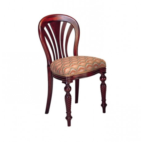 Turned Classic Wooden Chair - ksa28