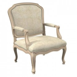 Beige Color Fabric Chair