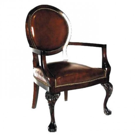 Brown Leather Classic Bergere - bk03