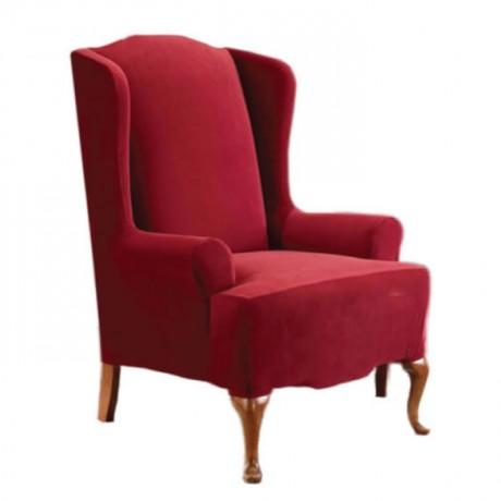 Kırmızı Kumaşlı Berjer - bk101a