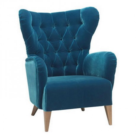 Blue Fabric with Quilted Bergere - bk109