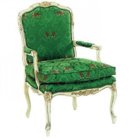 Yeşil Kumaşlı Klasik Berjer - bk16