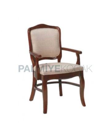 Classic Armchair Polished Restaurant Chair