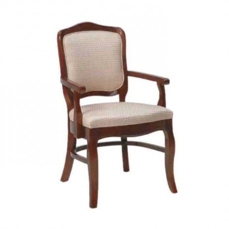 Klasik Kollu Cilalı Restaurant Sandalyesi - ksak66