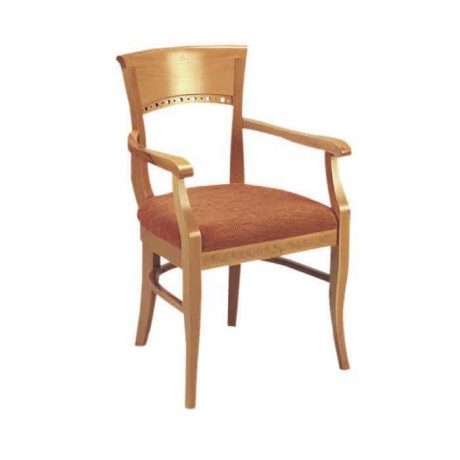Classic Armchair Oak Painted Chair - ksak09