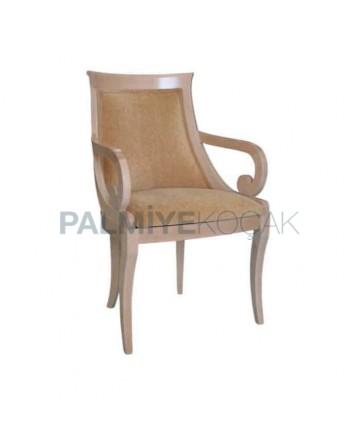 Klasik Kollu Yemek Odası Sandalyesi