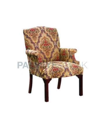 Classic Fabric Upholstered Armchair