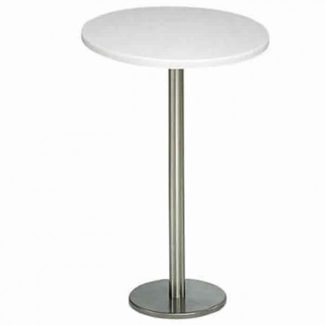 60 Cm Werzalit Table Top Stainless Steel Cocktail Table - ktm60