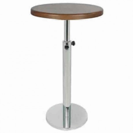 Adjustable Rising and Lowering Stainless Steel Cocktail Table - ktm70