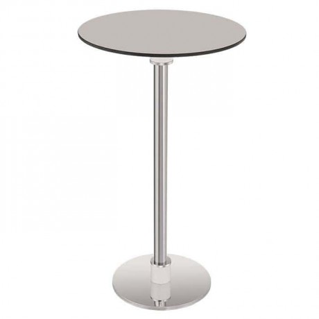 Compact Table Top Stainless Leg Cocktail Table - ktm75