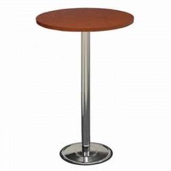 Fiberboat Table Top Chrome Leg Bistro Coctail Table