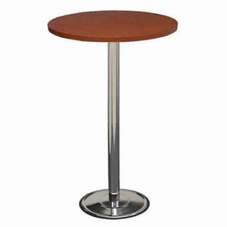 Fiberboat Table Top Chrome Leg Bistro Coctail Table - ktm68