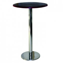 Cocktail Table with Venge Painted Stainless Leg