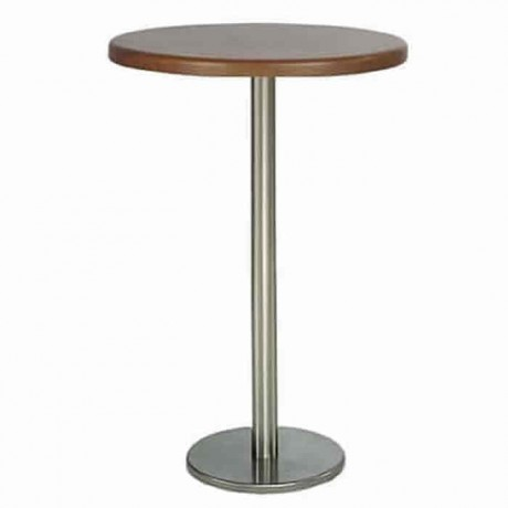 Werzalit Table Top Stainless Steel Leg Bistro Table - ktm61