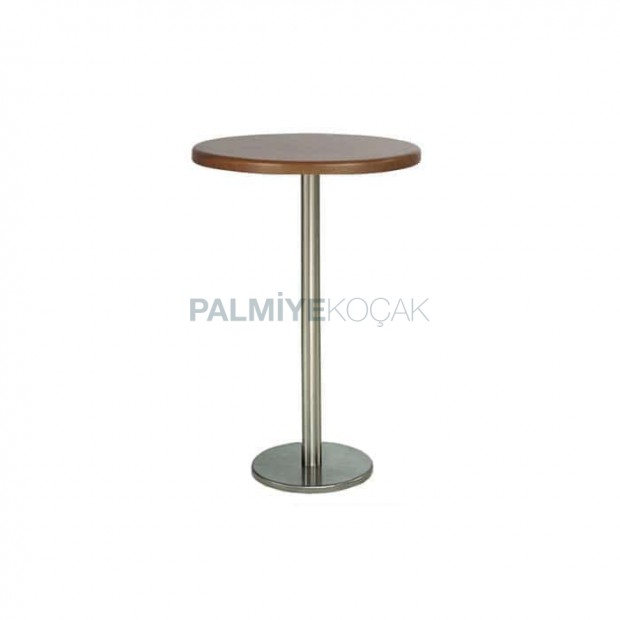 Werzalit Table Top Stainless Steel Leg Bistro Table