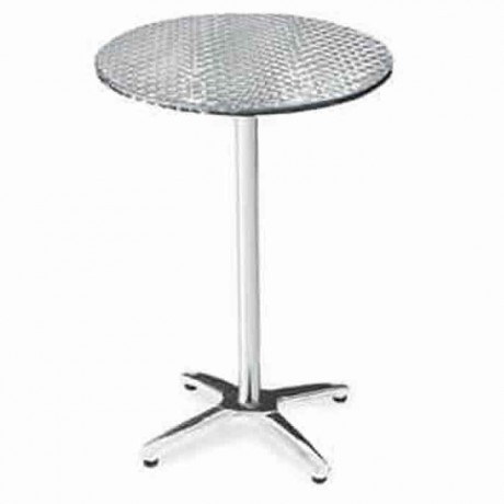 Star Leg Stainless Table Top Cocktail Bistro Table - ktm83