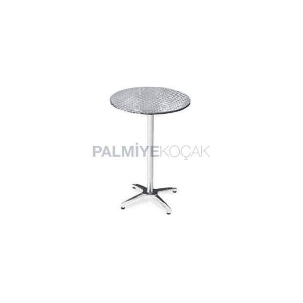 Star Leg Stainless Table Top Cocktail Bistro Table