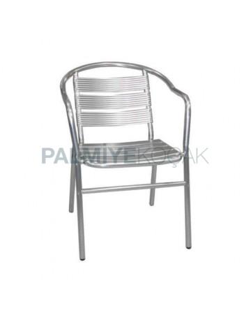 Aluminum Restaurant Armchair
