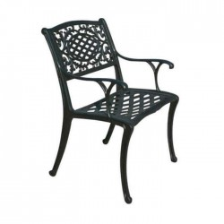 Classic Cafe Restaurant Casting Arm Chair