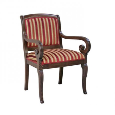 Armchair Classic Chair Fabric Upholstered - ksak06