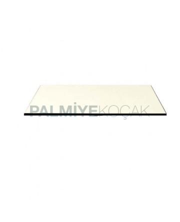 Beyaz 12 mm Kompakt Masa Tablası