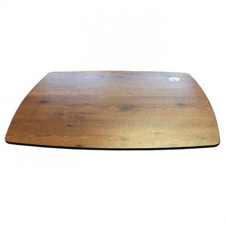 Oval Kesimli 12 mm Kompakt Masa Tablası - cmt975
