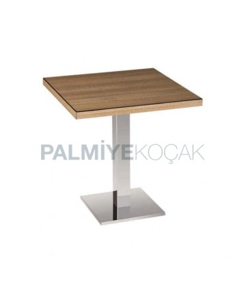 Square Compact Table for Two