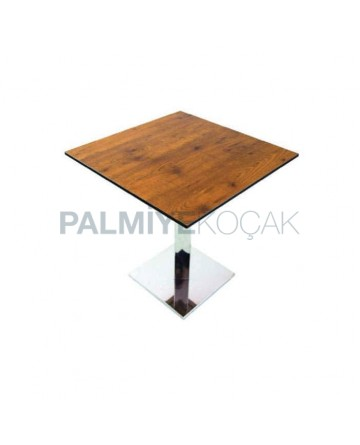Square Compact Table Top Restaurant Table