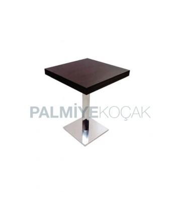 Metal Leg Compact Table