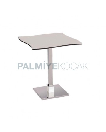 Compact Table with Chrome Legs